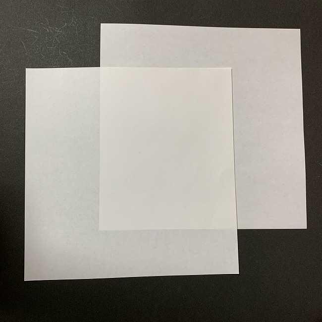 折り紙のオラフの作り方は簡単♪用意するもの (1)