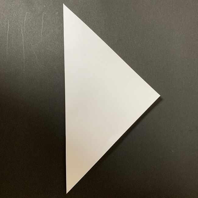 折り紙のオラフの作り方折り方(雪だるまの全身) (1)