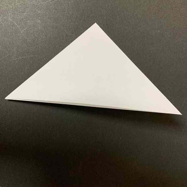 折り紙のオラフの作り方折り方(雪だるまの全身) (2)