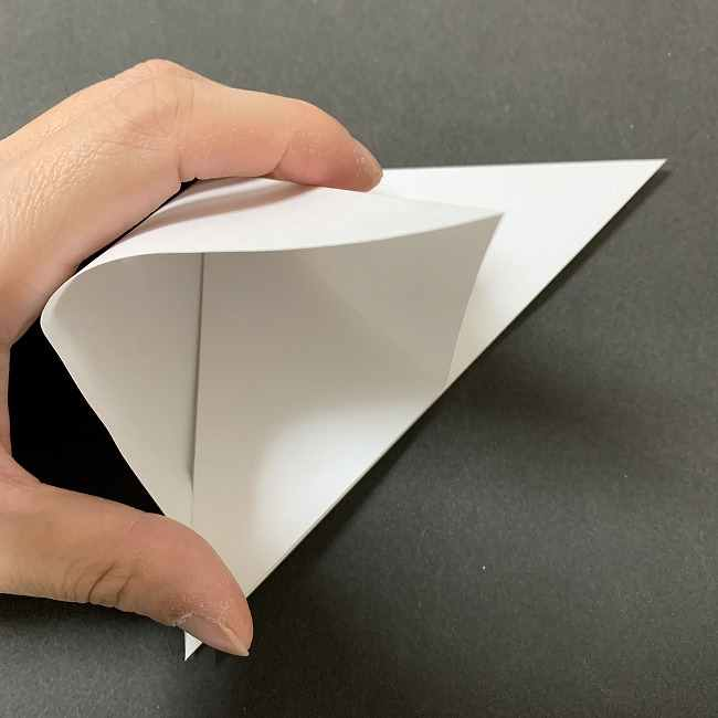 折り紙のオラフの作り方折り方(雪だるまの全身) (3)