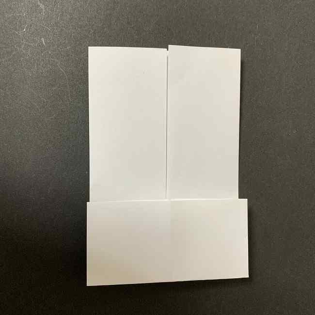 折り紙のオラフの作り方折り方(雪だるまの全身) (33)
