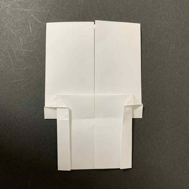 折り紙のオラフの作り方折り方(雪だるまの全身) (38)
