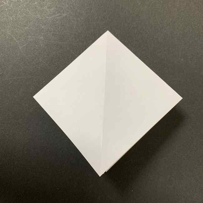 折り紙のオラフの作り方折り方(雪だるまの全身) (5)