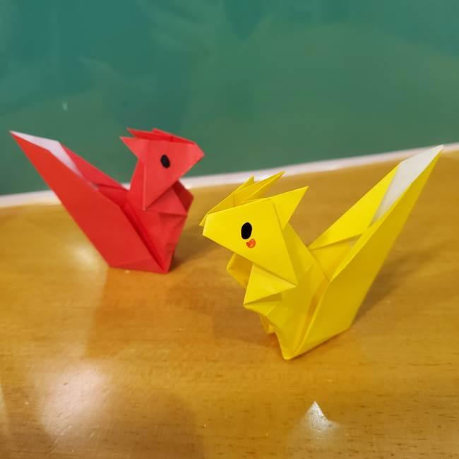 折り紙のリスは立体だと難しい?折り図つきで折り方を紹介!可愛い秋の動物