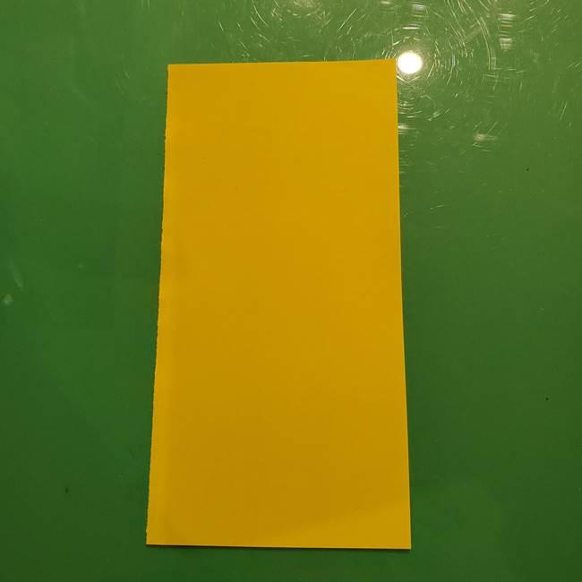 折り紙の流れ星①星パーツの折り方(1)