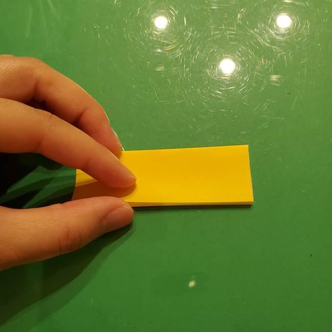 折り紙の流れ星①星パーツの折り方(10)