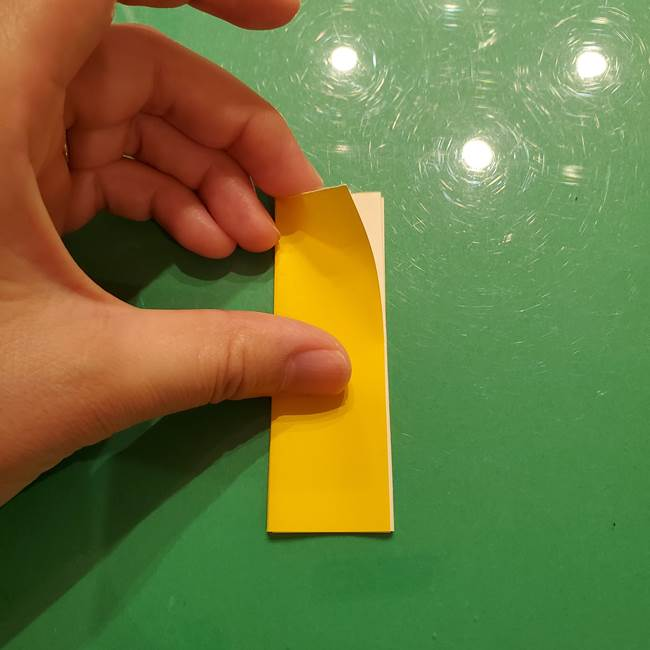 折り紙の流れ星①星パーツの折り方(11)