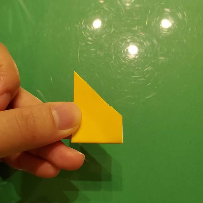 折り紙の流れ星①星パーツの折り方(14)