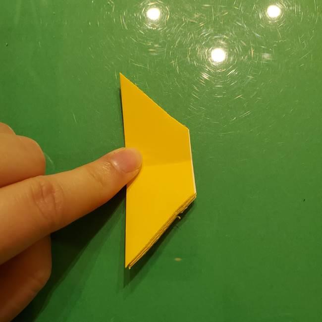 折り紙の流れ星①星パーツの折り方(15)
