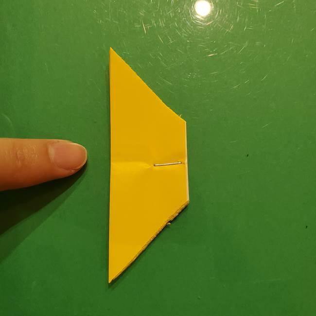 折り紙の流れ星①星パーツの折り方(16)