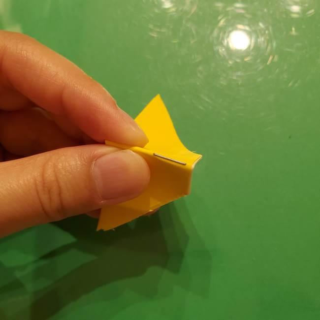 折り紙の流れ星①星パーツの折り方(17)