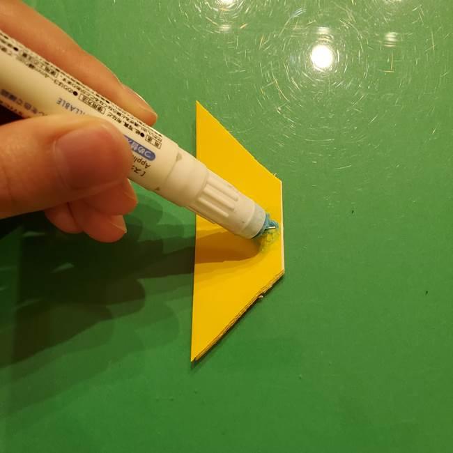 折り紙の流れ星①星パーツの折り方(18)