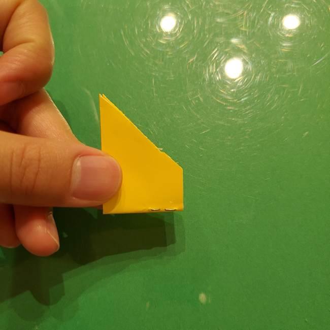 折り紙の流れ星①星パーツの折り方(19)