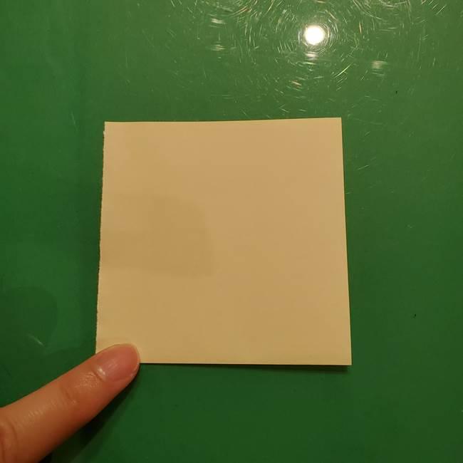 折り紙の流れ星①星パーツの折り方(2)