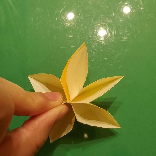 折り紙の流れ星①星パーツの折り方(22)