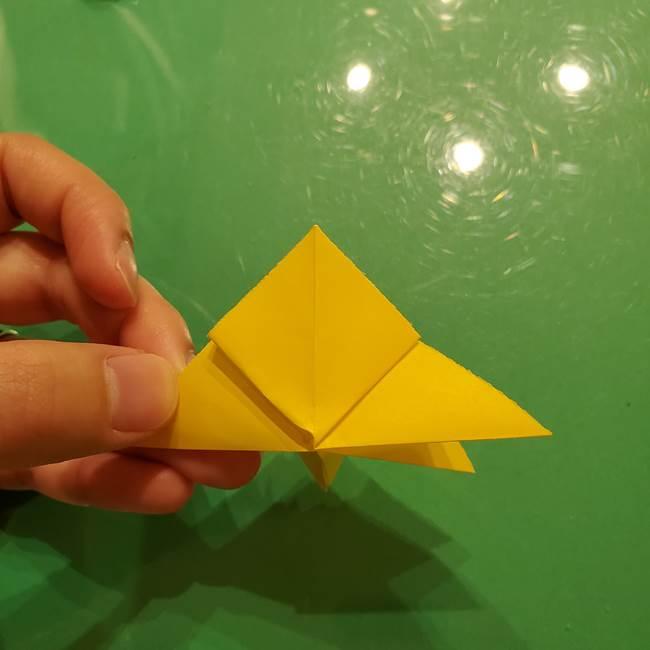折り紙の流れ星①星パーツの折り方(23)