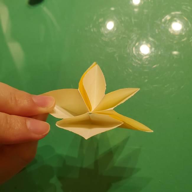 折り紙の流れ星①星パーツの折り方(24)