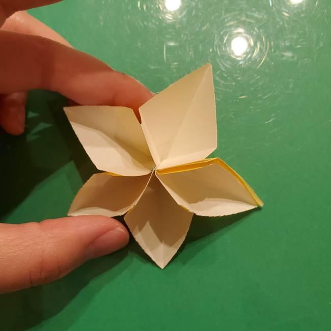 折り紙の流れ星①星パーツの折り方(25)