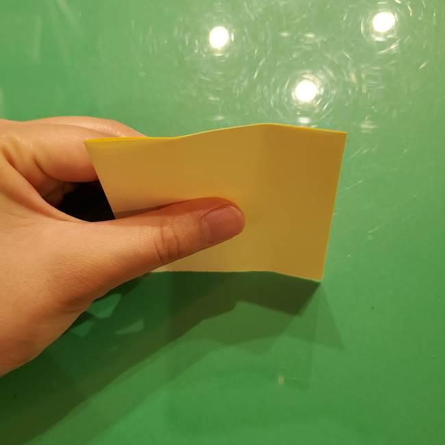 折り紙の流れ星①星パーツの折り方(3)
