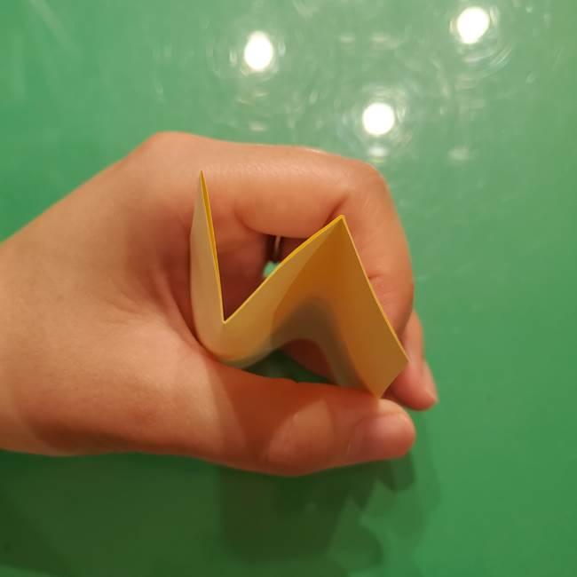 折り紙の流れ星①星パーツの折り方(4)