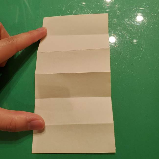 折り紙の流れ星①星パーツの折り方(6)