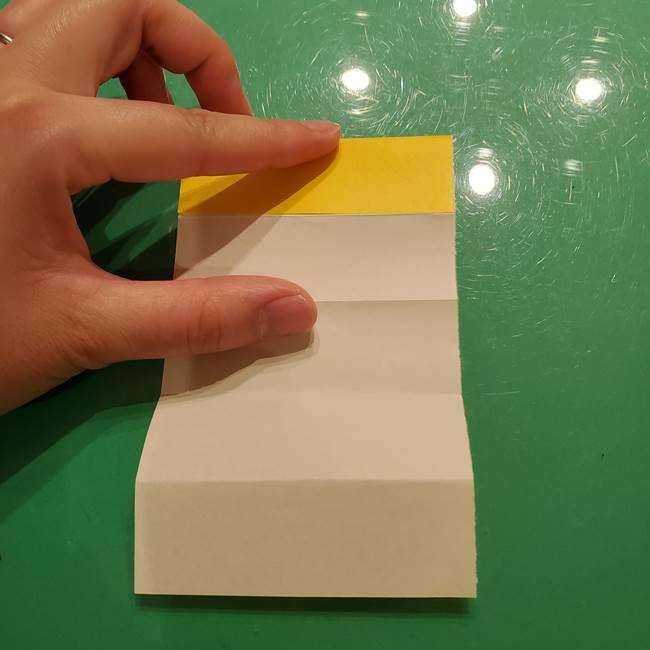折り紙の流れ星①星パーツの折り方(7)