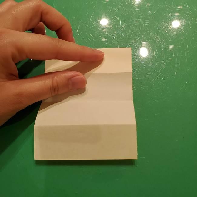 折り紙の流れ星①星パーツの折り方(8)