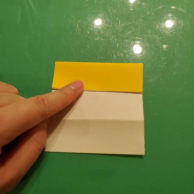 折り紙の流れ星①星パーツの折り方(9)