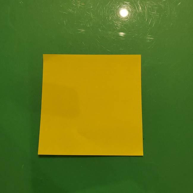 折り紙の流れ星②流星痕(後ろの部分)の折り方(1)