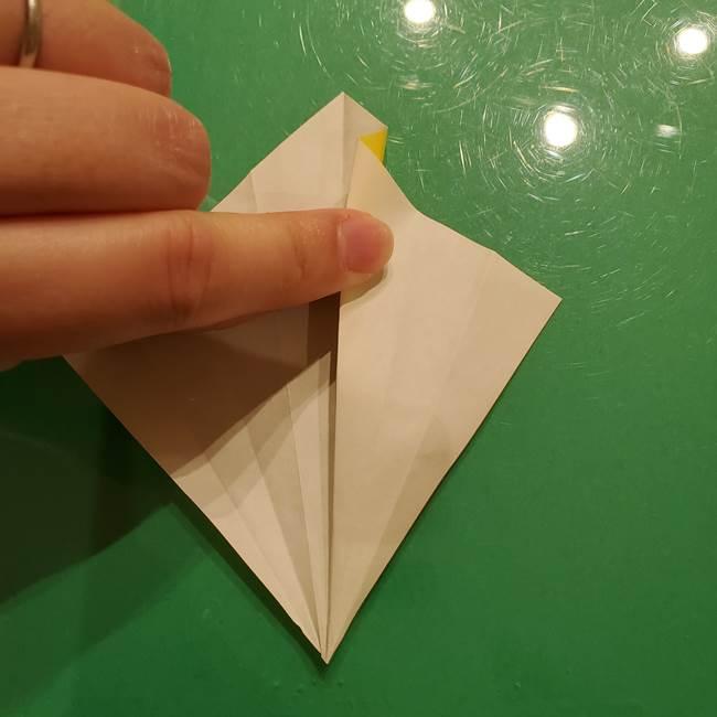 折り紙の流れ星②流星痕(後ろの部分)の折り方(10)