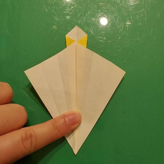 折り紙の流れ星②流星痕(後ろの部分)の折り方(12)