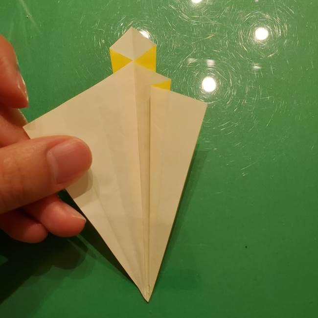折り紙の流れ星②流星痕(後ろの部分)の折り方(15)
