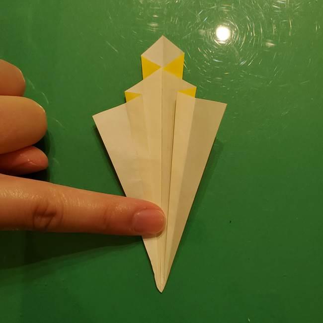 折り紙の流れ星②流星痕(後ろの部分)の折り方(18)