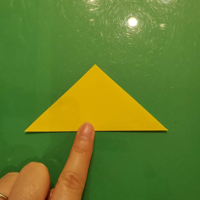 折り紙の流れ星②流星痕(後ろの部分)の折り方(2)