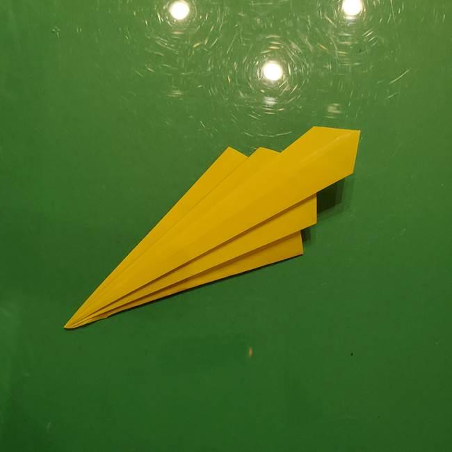 折り紙の流れ星②流星痕(後ろの部分)の折り方(20)