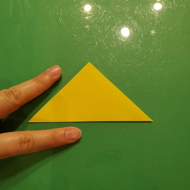 折り紙の流れ星②流星痕(後ろの部分)の折り方(3)
