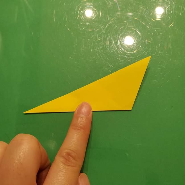 折り紙の流れ星②流星痕(後ろの部分)の折り方(4)