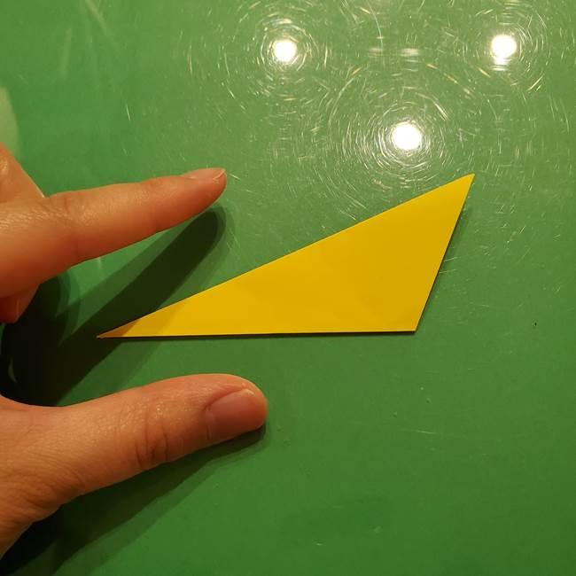 折り紙の流れ星②流星痕(後ろの部分)の折り方(5)