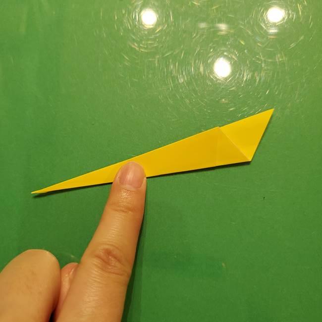 折り紙の流れ星②流星痕(後ろの部分)の折り方(6)