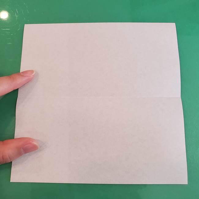 折り紙の箱クジラ(立体)折り方作り方(3)