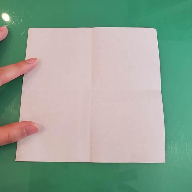 折り紙の箱クジラ(立体)折り方作り方(5)