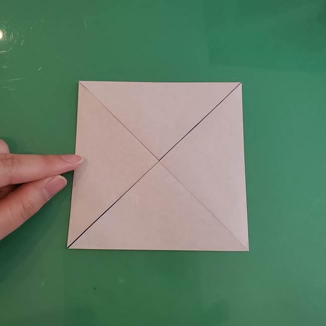 折り紙の箱クジラ(立体)折り方作り方(7)