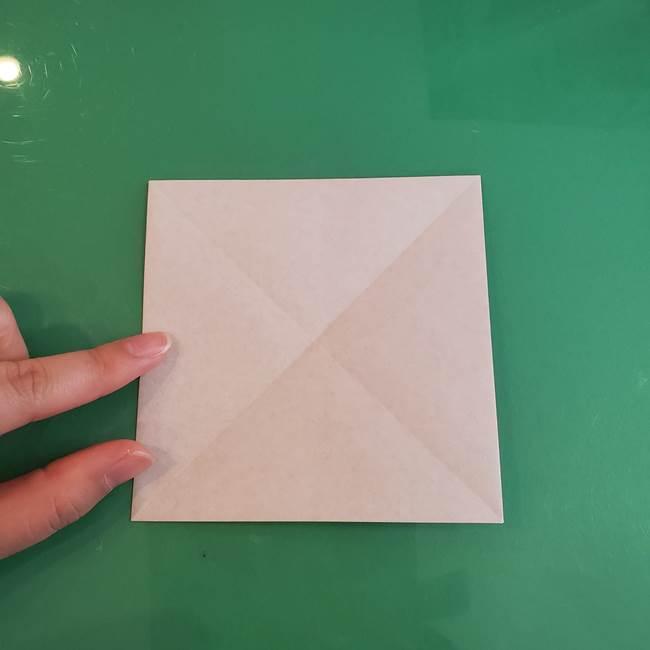 折り紙の箱クジラ(立体)折り方作り方(8)