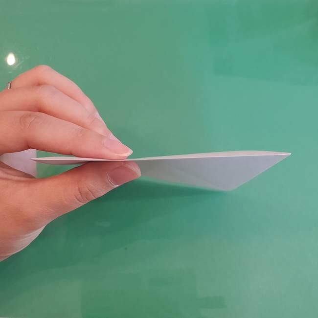 折り紙の箱クジラ(立体)折り方作り方(9)