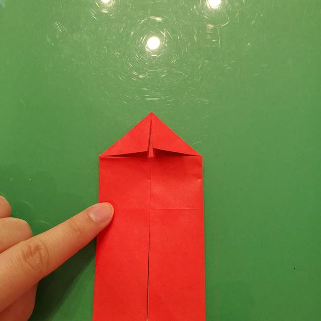 折り紙リスの折り図★立体で難しい折り方作り方①前半(11)