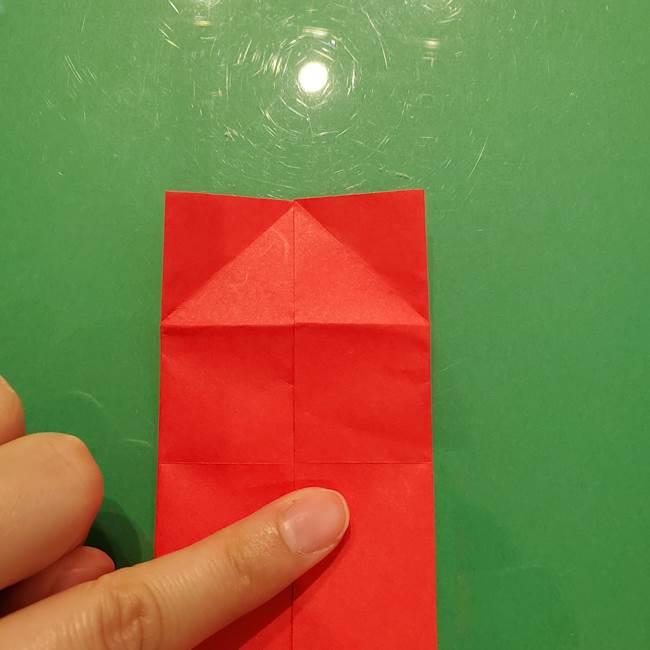 折り紙リスの折り図★立体で難しい折り方作り方①前半(12)