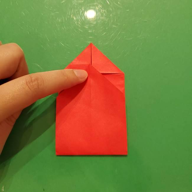 折り紙リスの折り図★立体で難しい折り方作り方①前半(19)