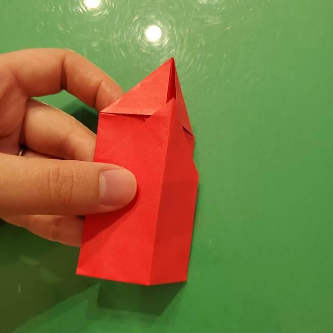 折り紙リスの折り図★立体で難しい折り方作り方①前半(20)