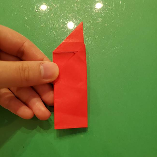 折り紙リスの折り図★立体で難しい折り方作り方①前半(21)