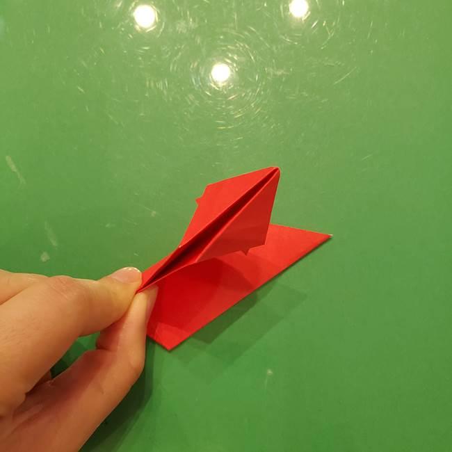 折り紙リスの折り図★立体で難しい折り方作り方①前半(25)